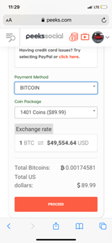 personas deploys bitcoin payments system